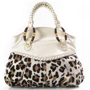 ♥️ Valentino Leopard Print Calf Hair tote ♥️